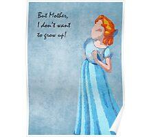 Peter Pan inspired design (Wendy) Poster