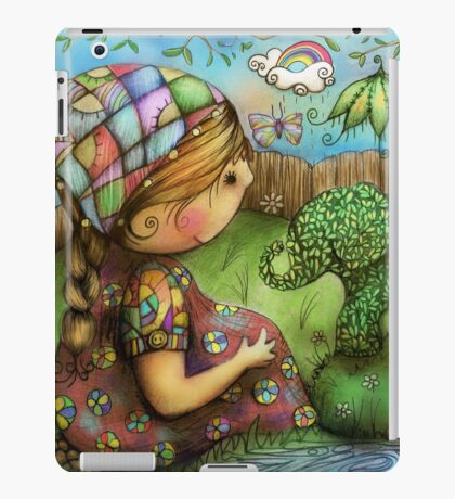 There's an Elephant in my Garden iPad Case/Skin