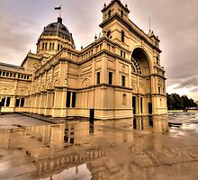 Heritage In Reflection - Royal Exhibition Building, Melbourne - The HDR Experience by Philip Johnson