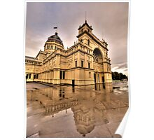 Heritage In Reflection - Royal Exhibition Building, Melbourne - The HDR Experience Poster