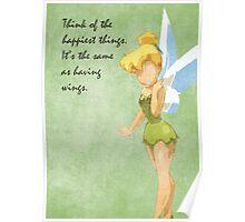 Peter Pan inspired design (Tinkerbell). Poster