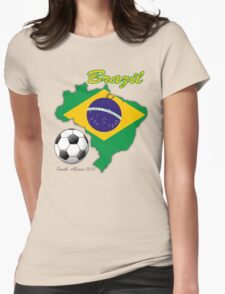 brazil Womens Fitted T-Shirt