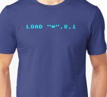"LOAD ""*"",8,1 Unisex T-Shirt"