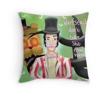Wilfred Warfstache  Throw Pillow