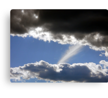 Touching the Finger of God Canvas Print