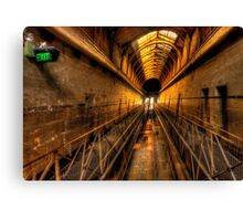 This Way Out - Old Melbourne Gaol c1839, Melbourne Victoria Canvas Print