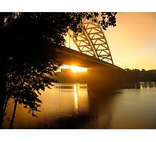 Sun Rise Under the Big Mac Photographic Print