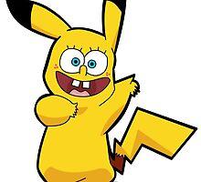 Pikachu Squarepants by Daxes