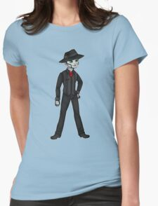 The Spine Womens Fitted T-Shirt