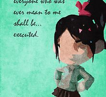 Wreck it Ralph inspired design (Vanellope). by topshelf