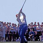 Golfing Legends: Jack Nicklaus - Australian Golf Open, The Lakes, Sydney, 1964 by Adrian Paul