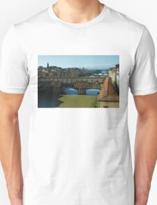 The Bridges of Florence, Italy Unisex T-Shirt