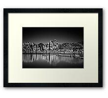 Watson Dark Framed Print