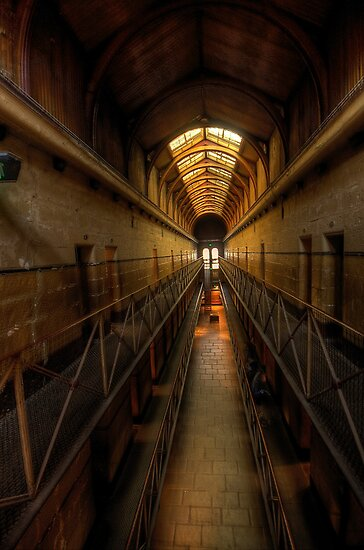 Porridge - Old Melbourne Gaol, Melbourne - The HDR Experience by Philip Johnson