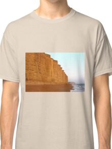 Jurassic Cliffs At West Bay, Dorset Classic T-Shirt