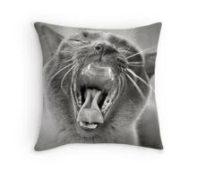 My Little Birmese Lion Throw Pillow