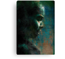Tourist of Reflection Canvas Print
