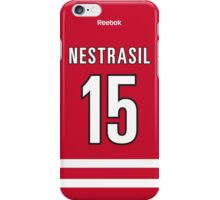 Carolina Hurricanes Andrej Nestrasil Jersey Back Phone Case iPhone Case/Skin