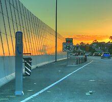 A Urban Sunset by jaskel