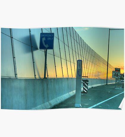 An Urban Sunset HDR Poster