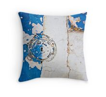 The Colour of Blue Throw Pillow