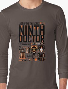 The Ninth Doctor Long Sleeve T-Shirt