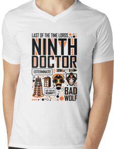 The Ninth Doctor Mens V-Neck T-Shirt