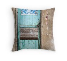 Entry into China Throw Pillow