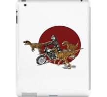 Typno and velociraptor iPad Case/Skin