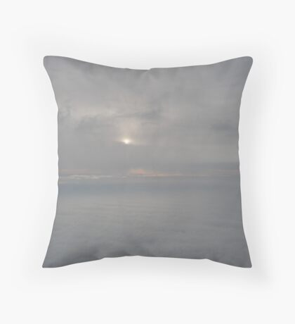 Sun in the Distance Throw Pillow
