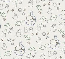 My Neighbour Totoro Pattern by conniekidd