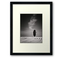Defective tree Framed Print
