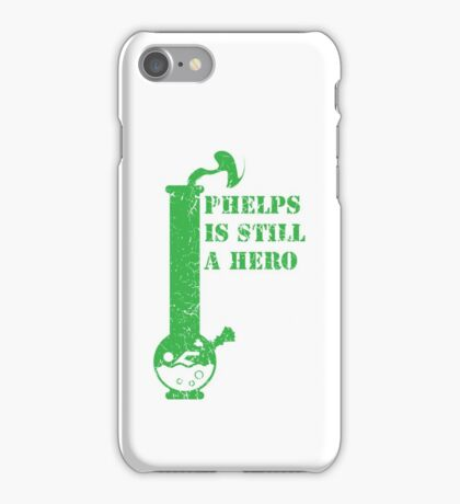 phelps is still a hero  iPhone Case/Skin