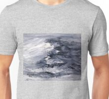 Yonder is the sea, great and wide. Unisex T-Shirt