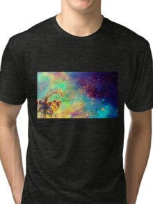 GARDEN OF THE LOST SHADOWS MAGIC BUTTERFLY PLANT Tri-blend T-Shirt