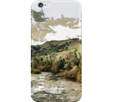 South Fork of the American River at Coloma in El Dorado County, California, USA iPhone Case/Skin