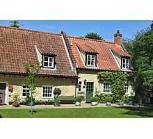 Walsingham Cottages Photographic Print