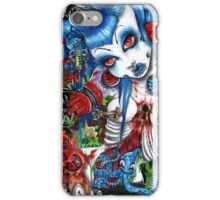 mayhem constructed   iPhone Case/Skin