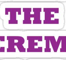 Jeremy Kyle Show Sticker