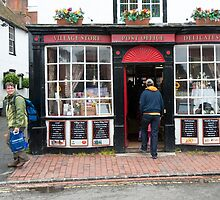 Post Office: Alfriston Village, East Sussex, England, UK. by DonDavisUK