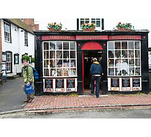 Post Office: Alfriston Village, East Sussex, England, UK. Photographic Print