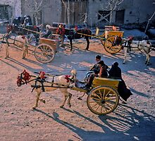 Carriages, Herat, Afghanistan by yoshiaki nagashima