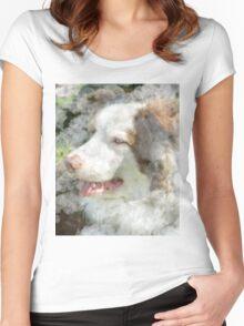 Man's Best Friend Women's Fitted Scoop T-Shirt