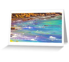 water colors Greeting Card