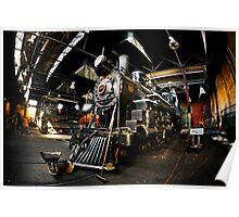 Baldwin Steam Engine No. 40 Poster