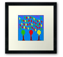 ABSTRACT 745 Framed Print