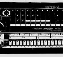 Roland TR-808 Drum Machine by VinylMigraine