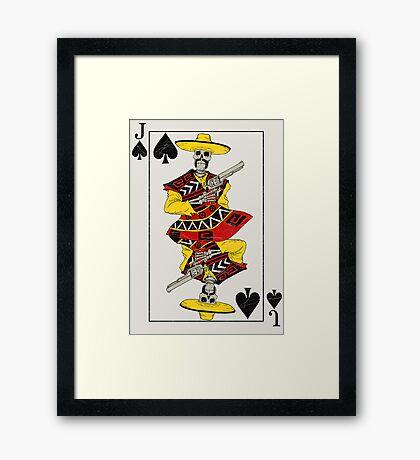 Jack of Spades Framed Print