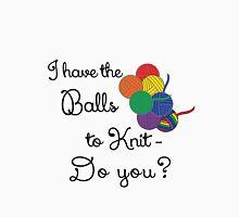 Balls 2 knit- Rainbow Unisex T-Shirt