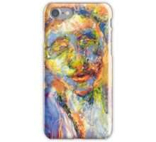 Abstract Mixed Media Portrait iPhone Case/Skin